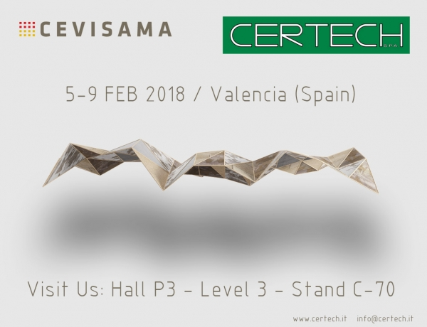 News certech for Cevisama 2018