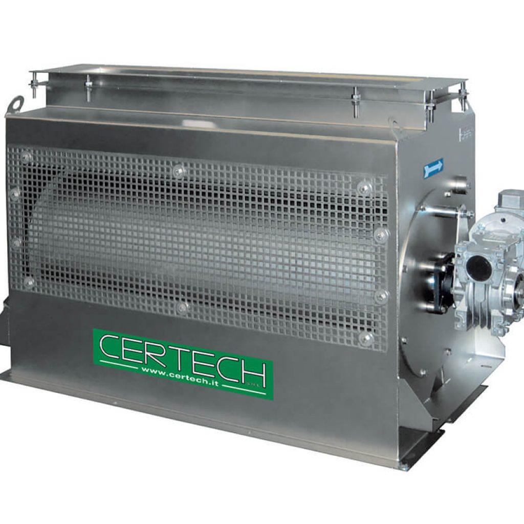 Deferizzatori per Polveri Certech CER-300-600-900-1200