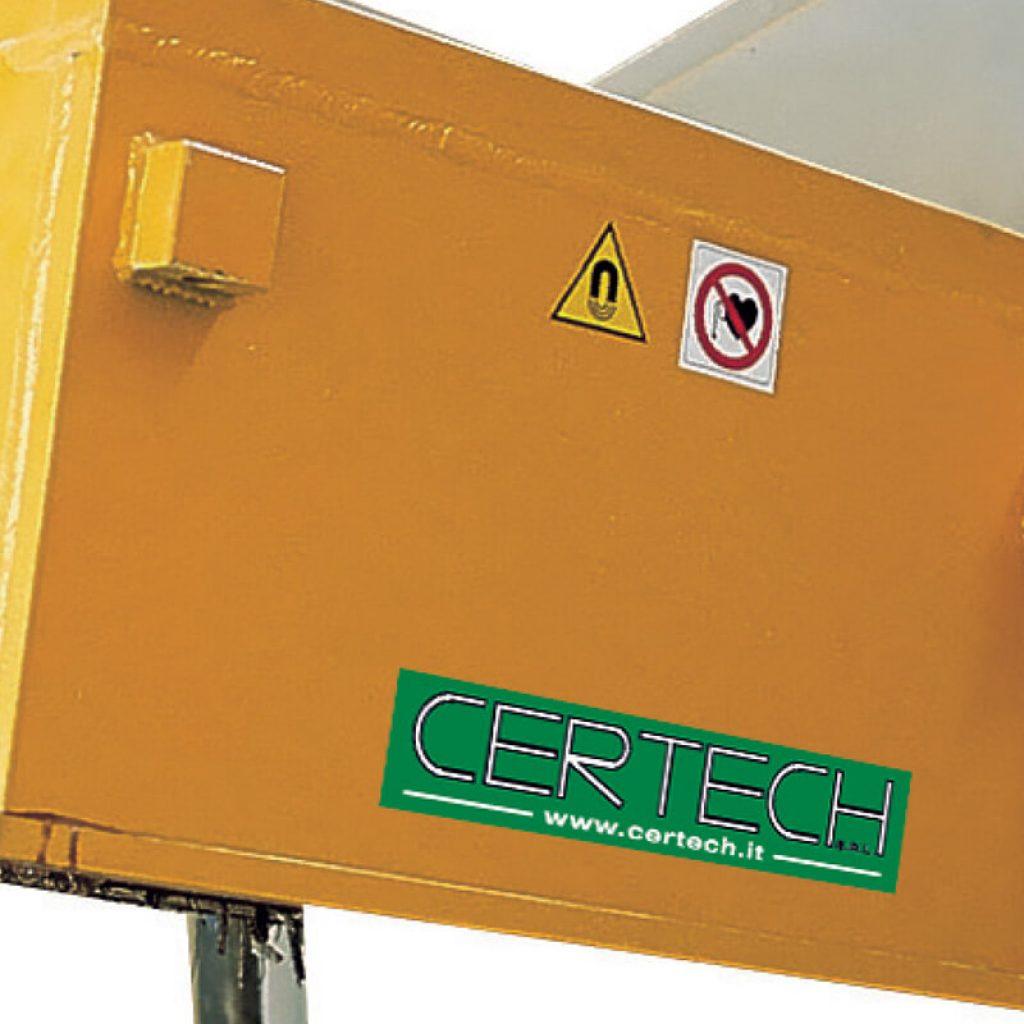 Deferizzatori per Polveri Certech DECTRON-500-600-800-1000