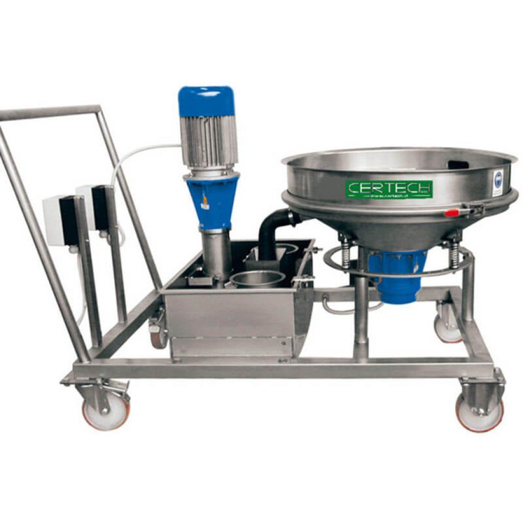 Grupos sobre ruedas para descarga molinos  Certech GRC-600-800-900-1200