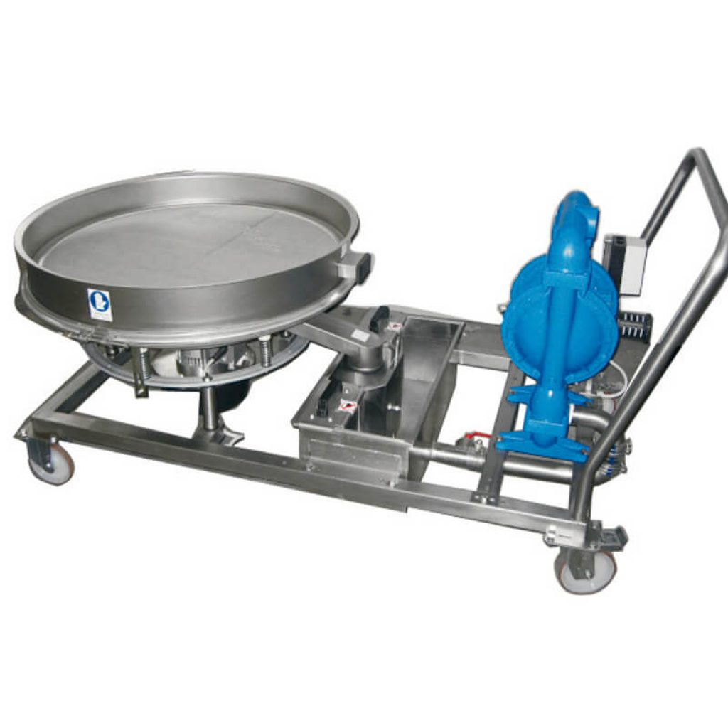 Trolley unit for mill discharge Certech GRM-600-800-900-1200