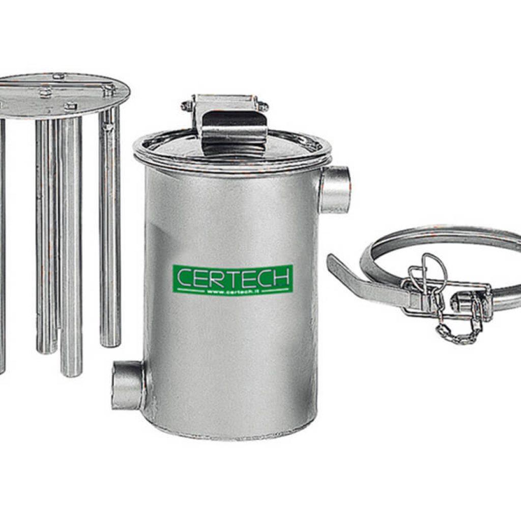 Deferizzatori per Liquidi Certech PZT-306-PZP-200
