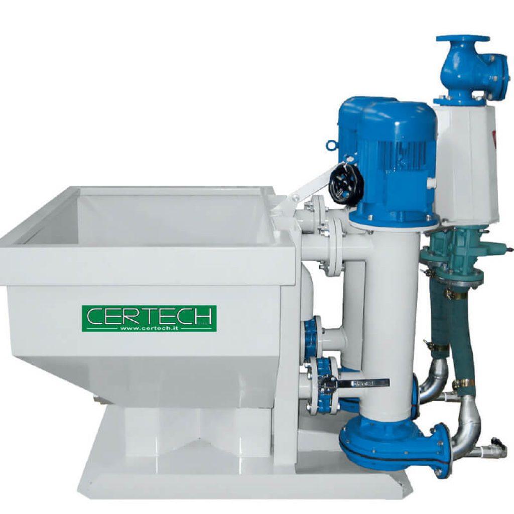 Mill discharge unit Certech SMV-1D-SMV-2D