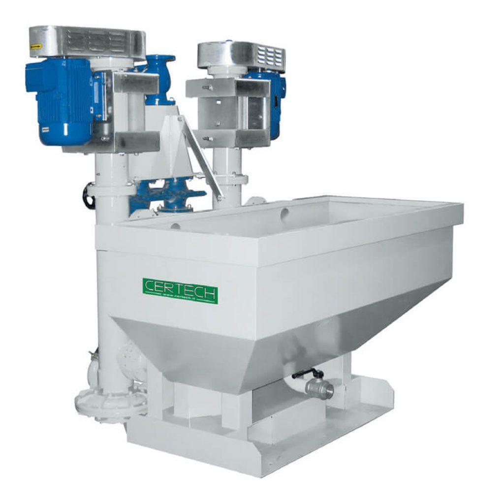 Mill discharge unit Certech SMV-1T-SMV-2T