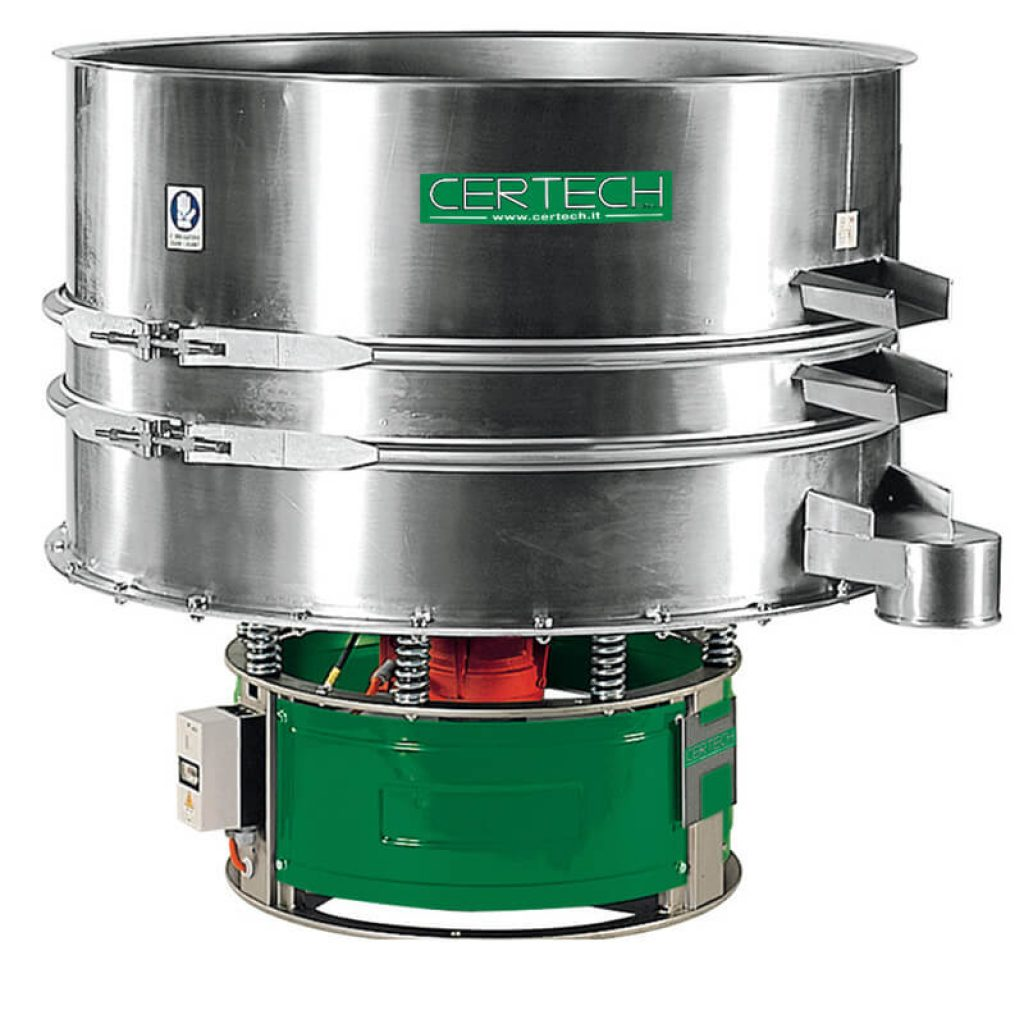 Tamis vibrants pour liquides  Certech VLM-900-1200-1500-2X