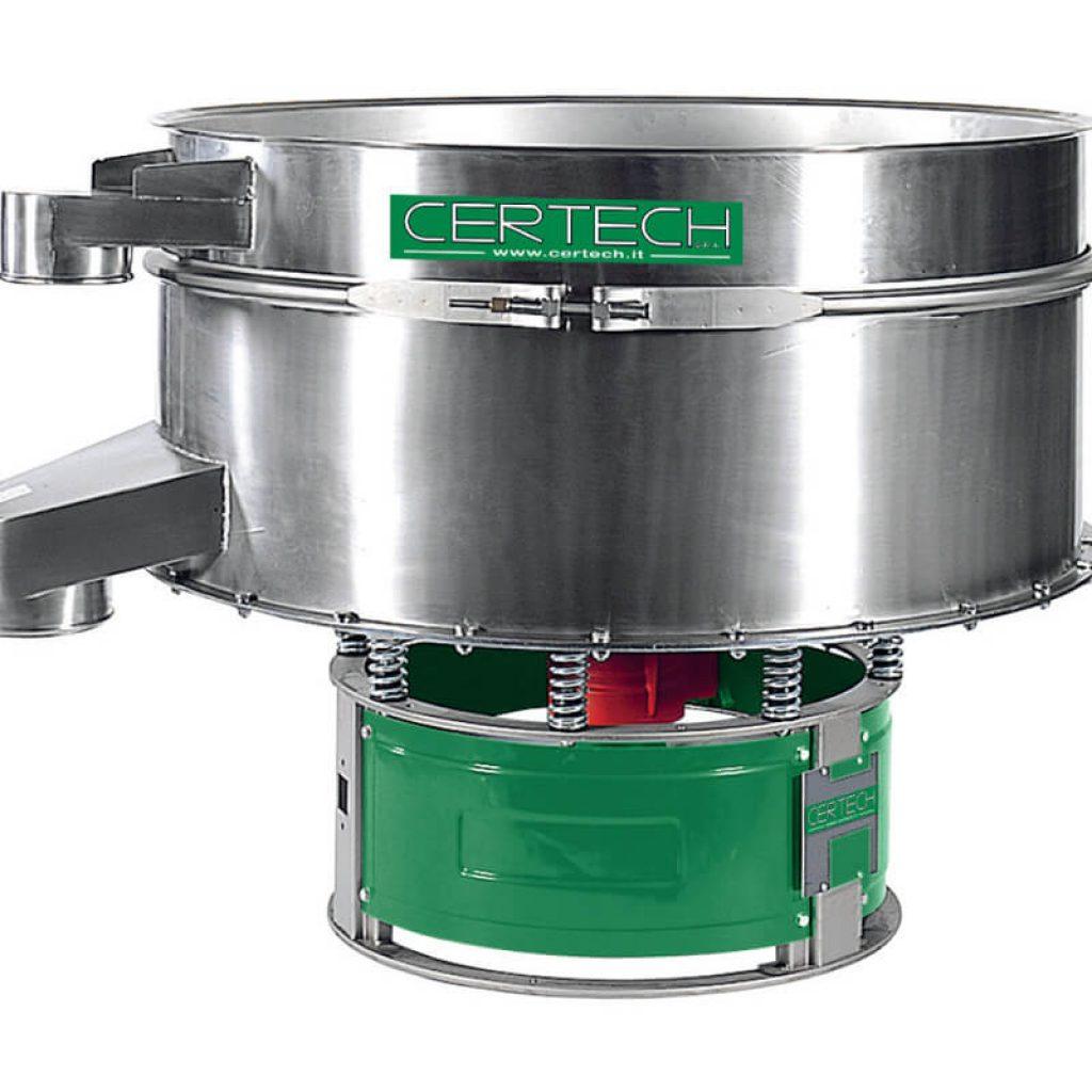 Tamis vibrants pour poudres Certech  VPM-900-1200-1500-1X