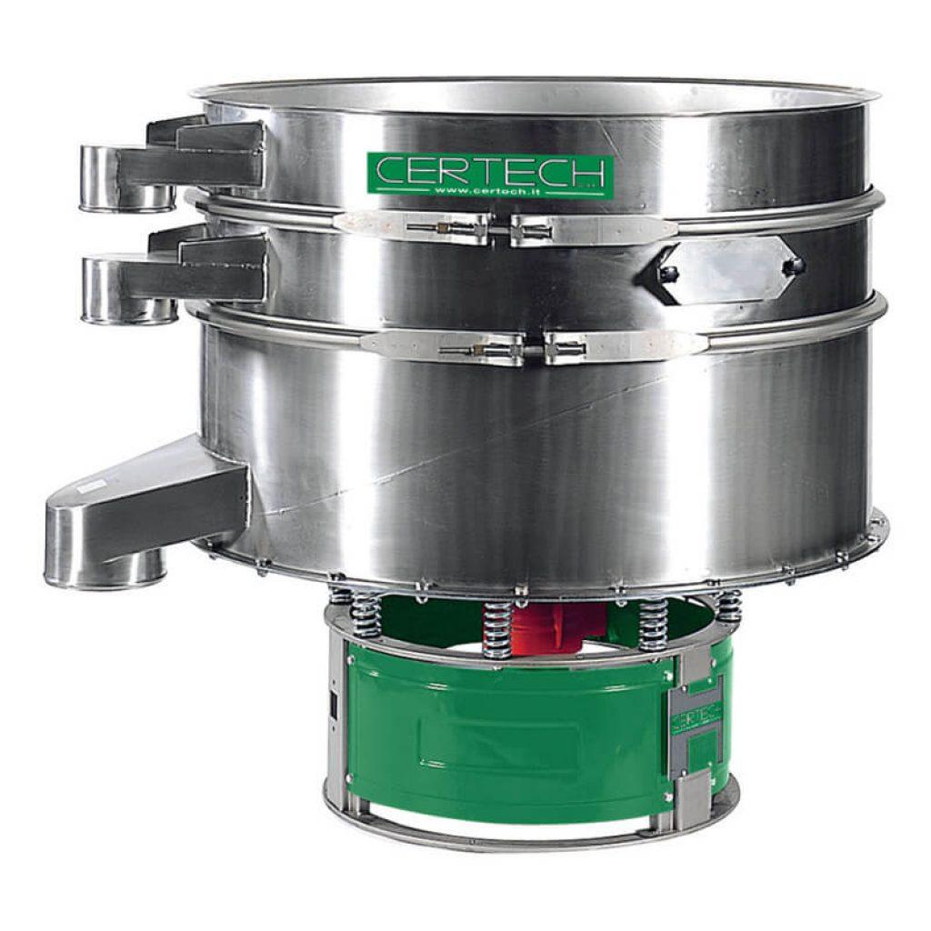 Tamis vibrants pour poudres Certech  VPM-900-1200-1500-2X