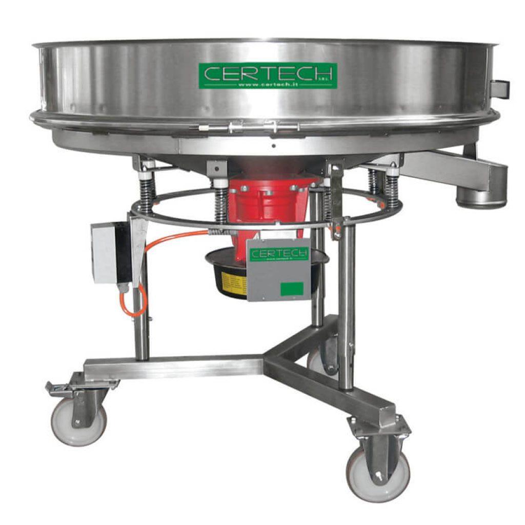 Tamis vibrants pour émaux Certech VSB-900-1200-1Y