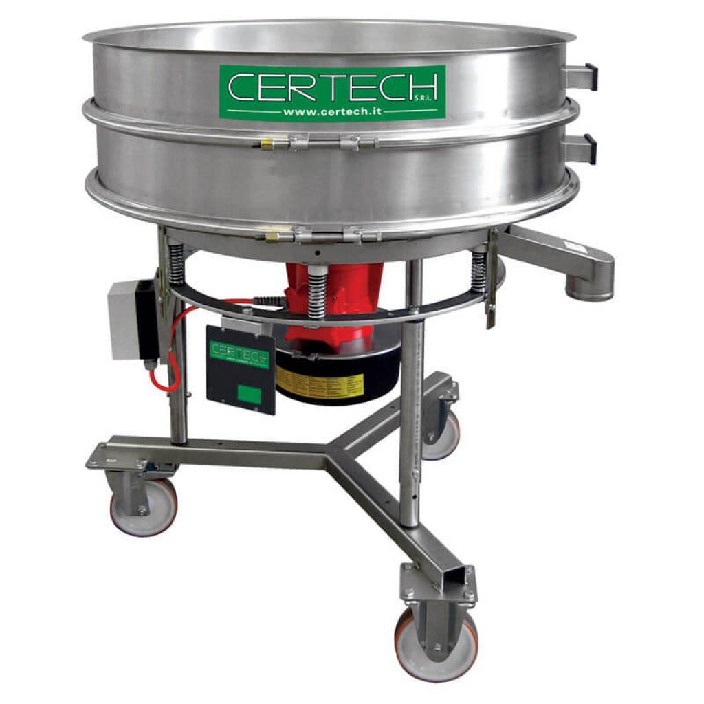 Tamis vibrants pour émaux Certech VSB-900-1200-2Y