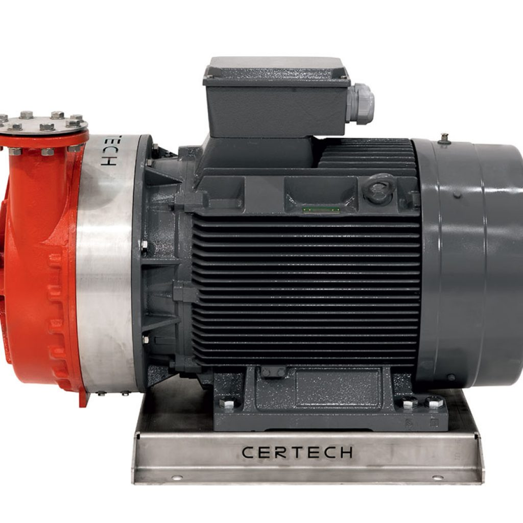 HHPPM electric centrifugal pumps with axial suction for spray drier feeding