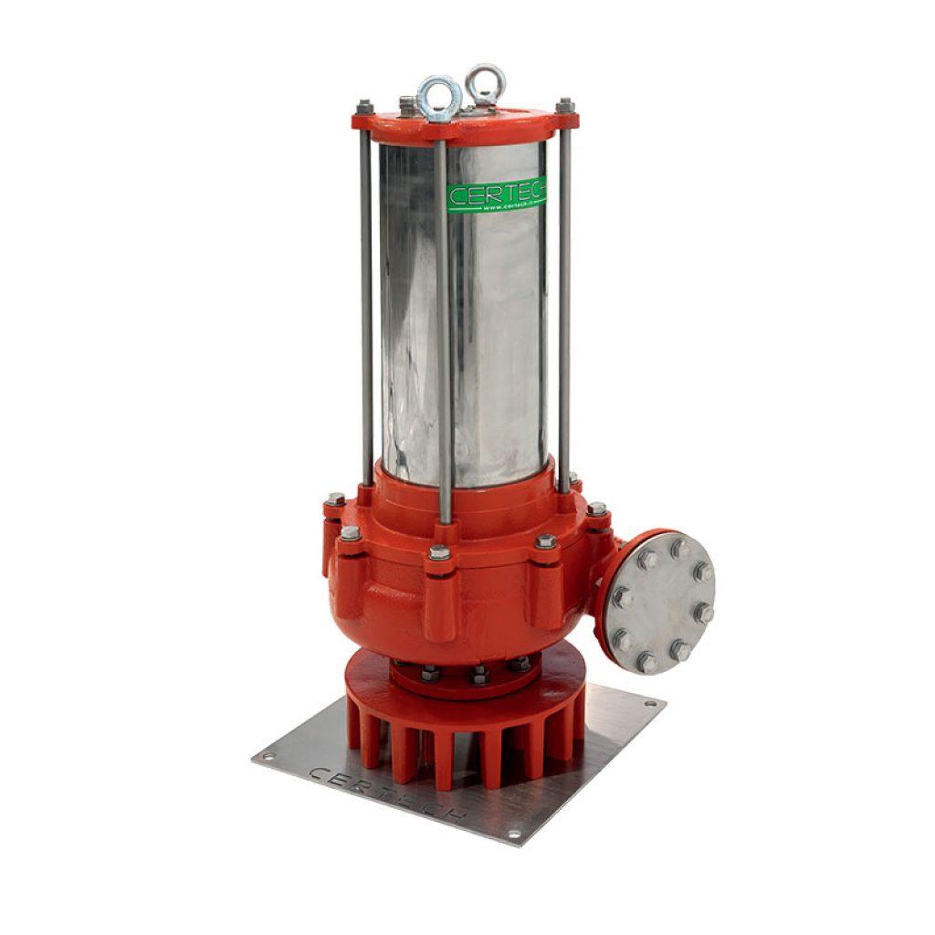Elettropompe centrifughe sommerse tipo sp con motore raffreddato ad acqua