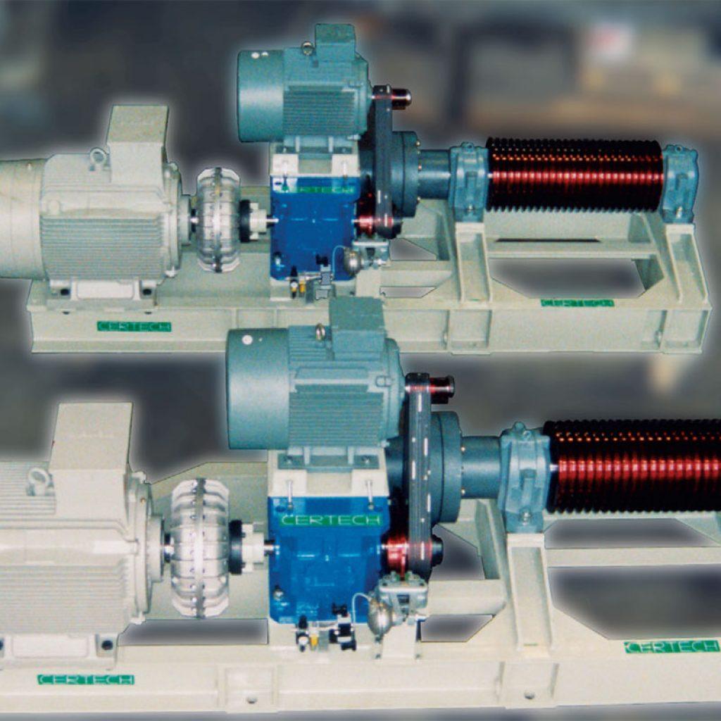 Set of 2 motorizations units for 38,000 litre mills