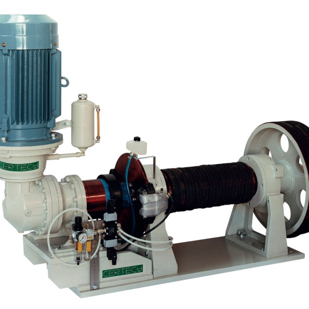 Motorization unit with starting/positioning motor for mill of 34.000 Lt and 30.000 Lt.