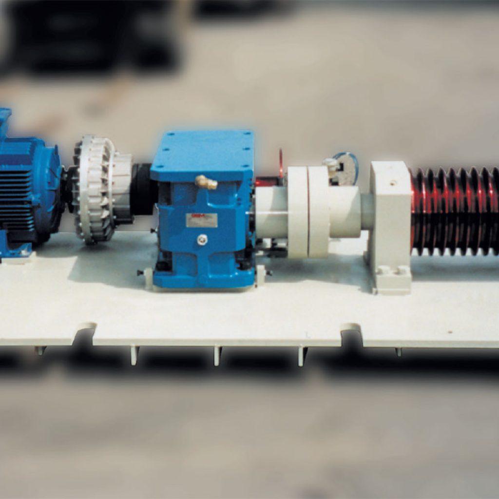 Motorization unit for 32,500 litre mills