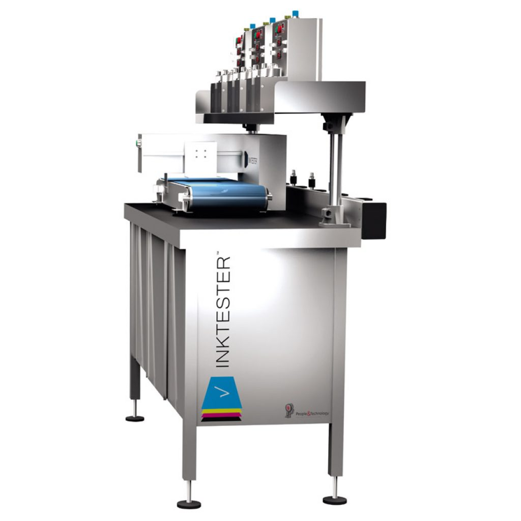 Inkjet's printheads and colours control system
