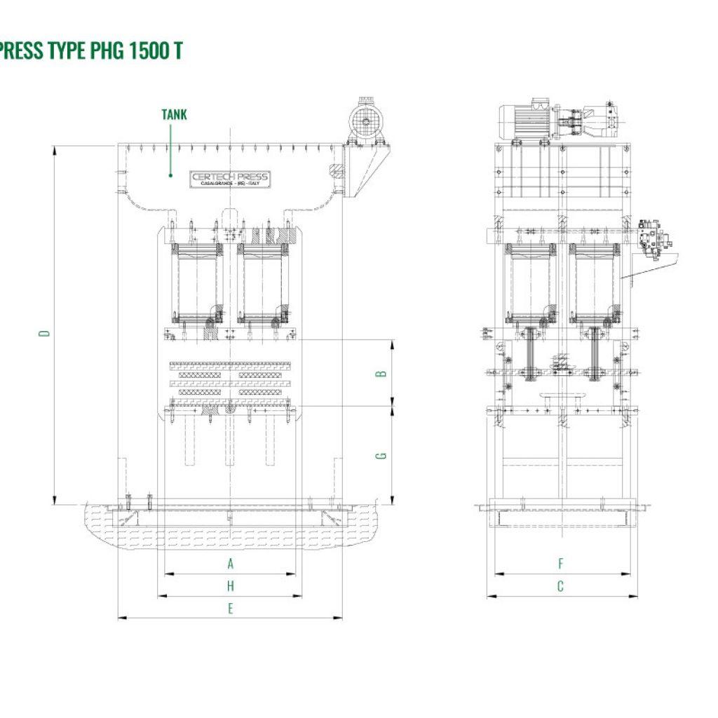 Press 1500 T
