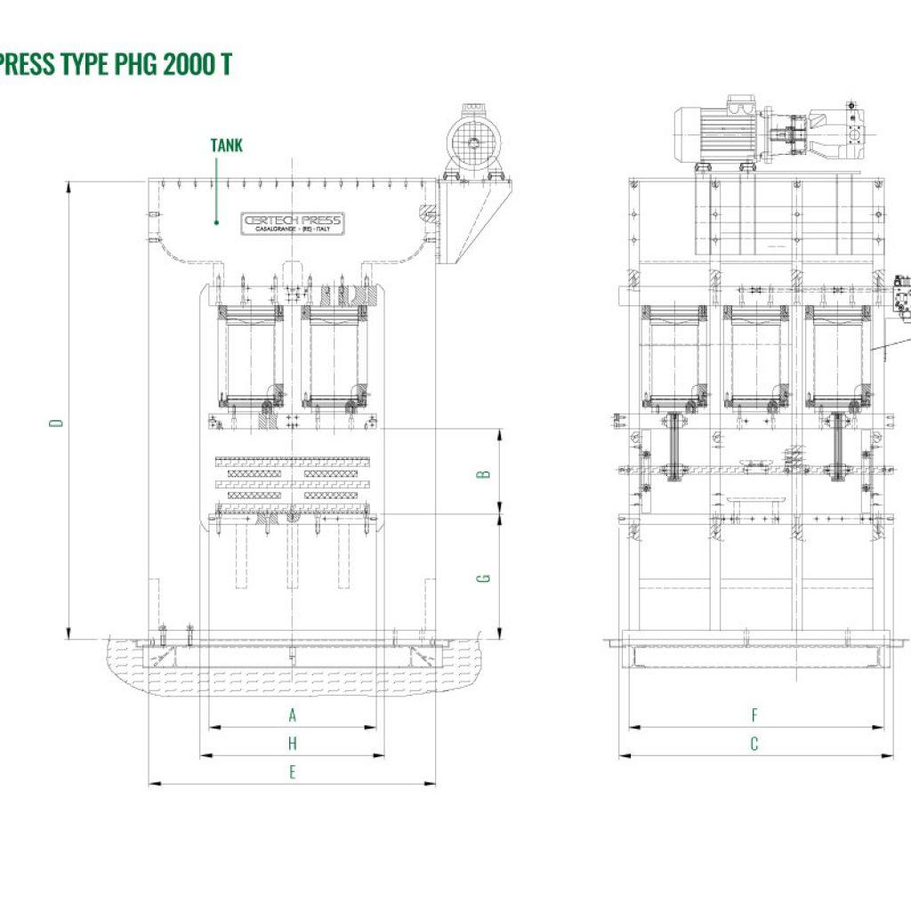 Press 2000 T