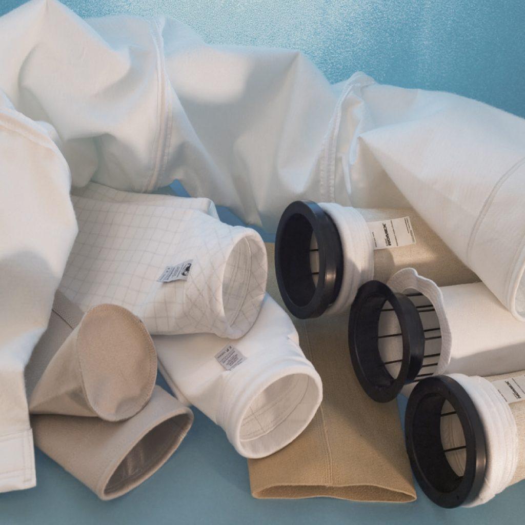 Siamo in grado di fornire qualsiasi tipo di manica filtrante