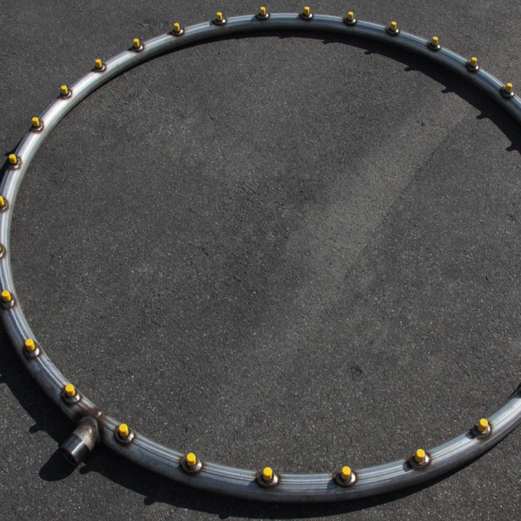 Corona di spruzzatura per atomizzatori